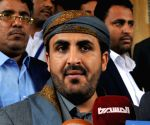 YEMEN SANAA HOUTHI GROUP PEACE TALK