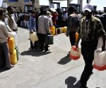 Fuel shortage in Yemen