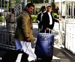 Yemen Sanaa Houthi Delegation Negotiation Departure