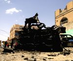 YEMEN SANAA CAR BOMBS EXPLOSION