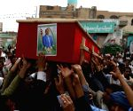 YEMEN SANAA ATTACKS VICTIMS FUNERAL