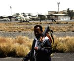 YEMEN SANAA AIRPORT DAMAGED