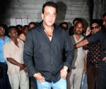 Sanjay Dutt on the sets of Extra Innings