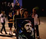 CUBA SANTA CLARA POLITICS FIDEL CASTRO