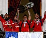 Santiago de Chile: CHILE WINS THE COPA AMERICA 2015