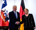 CHILE SANTIAGO GERMANY PRESIDENT VISIT