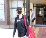 Sanya Malhotra Spotted Gym Juhu