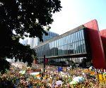 BRAZIL SAO PAULO SOCIETY DEMOSTRATION