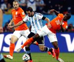 Sao Paulo: Semifinal match between Netherlands and Argentina of 2014 FIFA World Cup