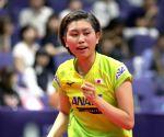JAPAN-SAPPORO-TABLE TENNIS-ITTF JAPAN OPEN