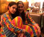 Free Photo: Sara Ali Khan strikes style symmetry with mom Amrita Singh