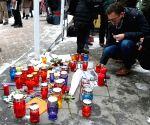 BOSNIA AND HERZEGOVINA SARAJEVO FRANCE ATTACK MOURNING