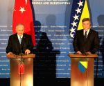BOSNIA AND HERZEGOVINA SARAJEVO TURKEY PM VISIT