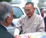 Bhutanese PM visits Sarnath