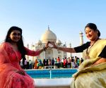 'Sasural Simar Ka 2' cast shoots in Agra