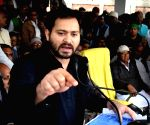 LS polls fight between people & Modi: Tejashwi