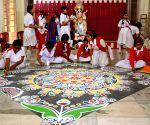 Saraswati Puja preparations