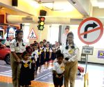 Road safety demonstration and exhibition