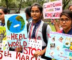 Climate change awareness rally