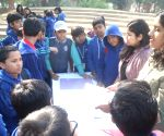 "School students at ""Bookaroo"" festival"