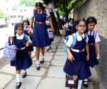 Schools re-open after summer vacations