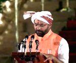 G. Kishan Reddy takes oath as Union Minister