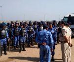 Free Security arrangements at  palwal aroha village kMP