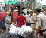 Independence Day eve - Security beefed up at Lajpat Nagar Central Market