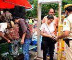 Independence Day eve - Security beefed up at Sarojini Nagar market