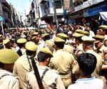 Shopkeeper succumbs to injuries after being beaten up in Mathura, traders protest