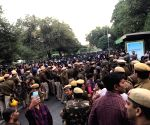 JNU protest: Security beefed up