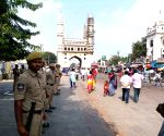 26th anniversary of Babri Masjid demolition - Shops remain shut, security beefed up