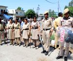 Pathankot (Punjab): Kathua rape-murder case - Security beefed up during hearing of the case