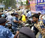 Lathi charge on assistant statisticians