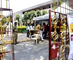 Security personnel deployed at D.G. Ruparel College