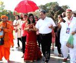 Radhe Maa visits Jallianwala Bagh