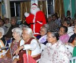 Senior citizen celebrate ahead of Christmas in an Old Age Home