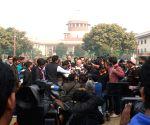 SC hearing on CBI plea - BJP's Nalin Kohli talks to the media