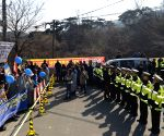 SOUTH KOREA SEONGJU THAAD DEPLOYMENT PROTEST