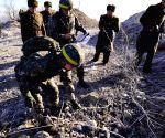 KOREA DMZ BORDER GUARD POSTS PULLOUT