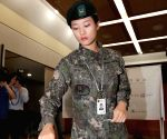SOUTH KOREA SEOUL ELECTION SOLDIERS VOTE
