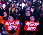 SOUTH KOREA SEOUL ANTI PARK RALLY
