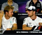 MALAYSIA SEPANG F1 PRESS CONFERENCE