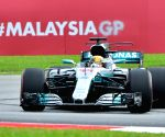 MALAYSIA SEPANG F1 2ND PRACTICE SESSION