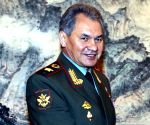 Russian defence minister meets Syrian president