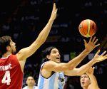 Argentina v/s Croatia at the 2014 FIBA Basketball World Cup