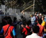 SFI demonstration against WB Govt.