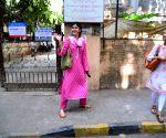 Shanaya Kapoor seen at Bandra