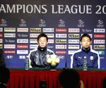CHINA-SHANGHAI-AFC CHAMPIONS LEAGUE-GROUP H-PRE-MATCH PRESS CONFERENCE