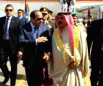 EGYPT ARAB LEAGUE SUMMIT YEMEN HADI ARRIVAL